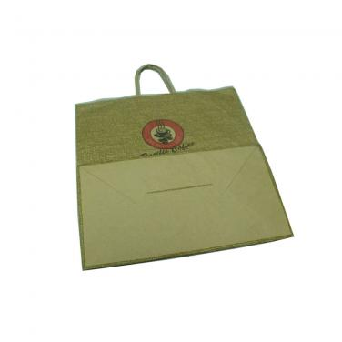 Custom Printing Kraft Paper Gift Bag For Shopping Usage