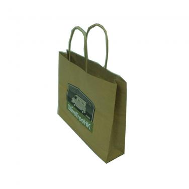 Kraft paper gift bags with paper handles