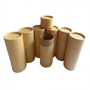 Plain brown Cylinder Packing Box