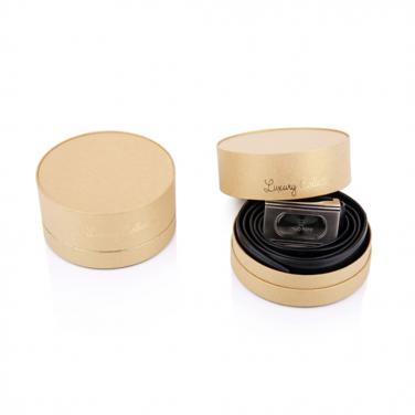 Cylinder packaging box for skin care cream