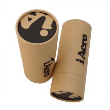 Custom logo printing cardboard paper tubes