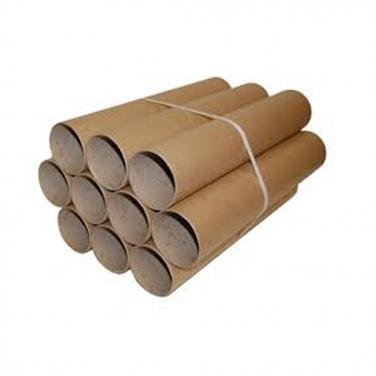 Long and round paper tube