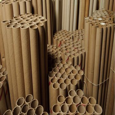 Long custom paper tubes for rolling machine
