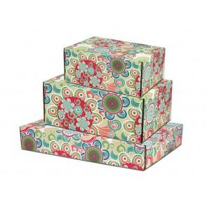 Fancy printed series flower box