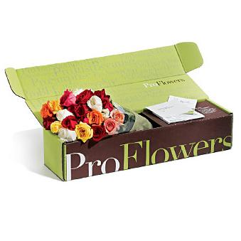 Tuck top flower mailer box