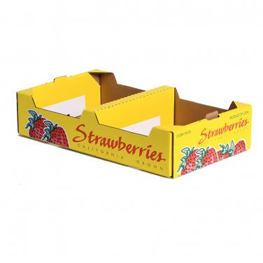 Hard duty strawberry packing box
