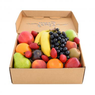 Tuck top fruit paper packing box