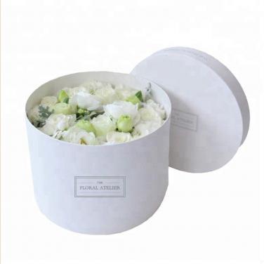 Cardboard Round Flower Boxes