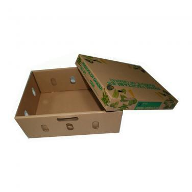 Customized High Quality Corrugated Paper Moving Fruit And Vegetable Box