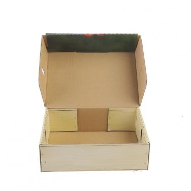 Banana avocado fruit vegetable packaging box