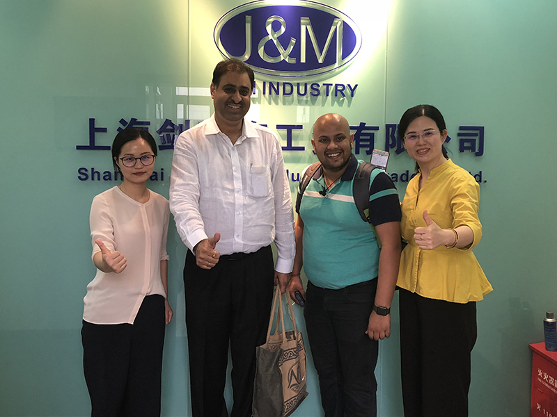 Jun. 5th 2018, Indian customers visit us