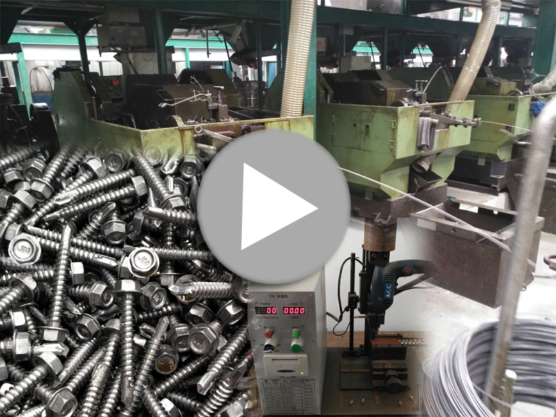 How to manufacture JM self-drilling screw