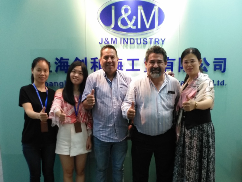 July 27th 2018, One of our customers from Mexico visited us