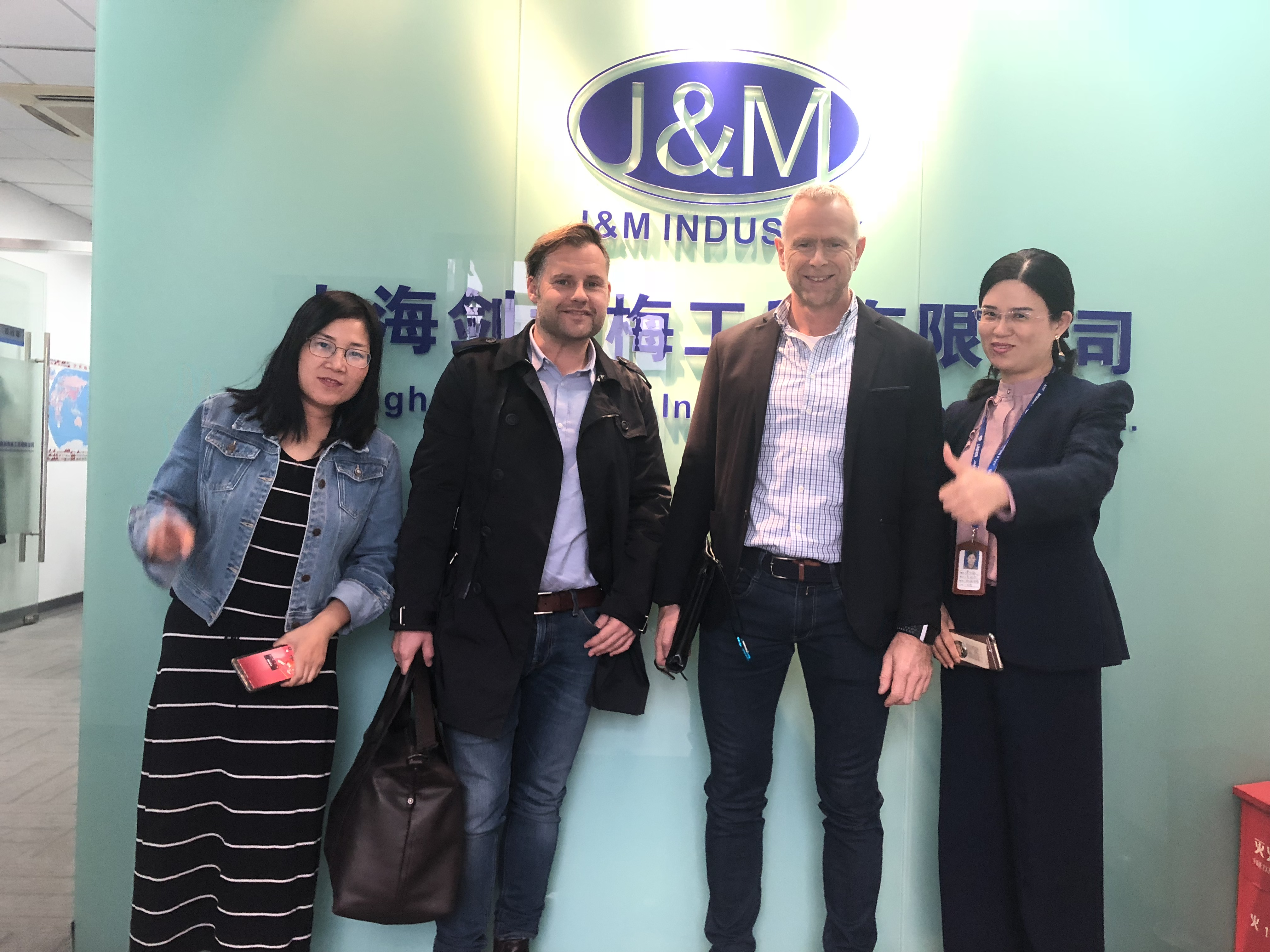 Nov.2nd 2018, our customers from Norway visit us