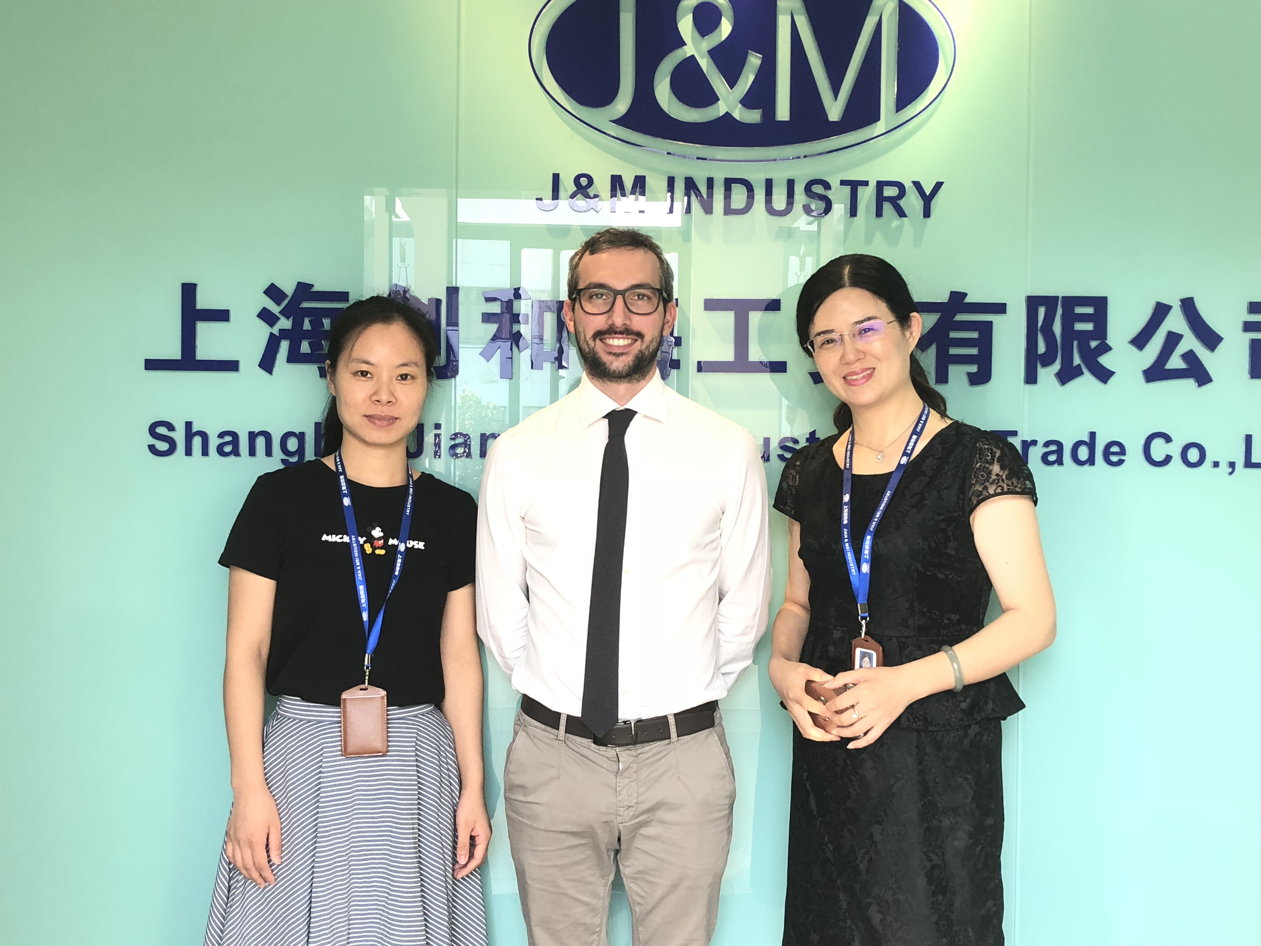 Sep. 4th 2018, One of our customers from Italy visited us