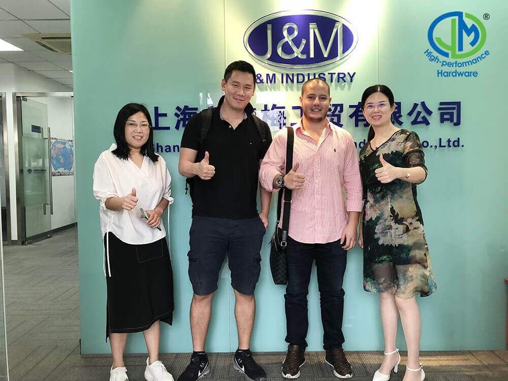 Sep. 20th 2018, One of our customers from America visited us