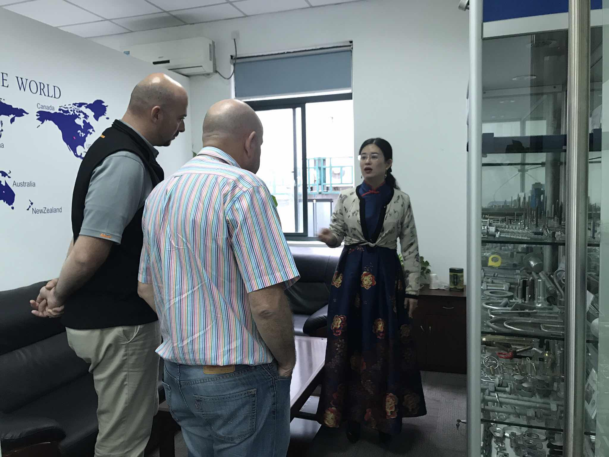 Nov. 15th 2018,  our customers from Australia visit us