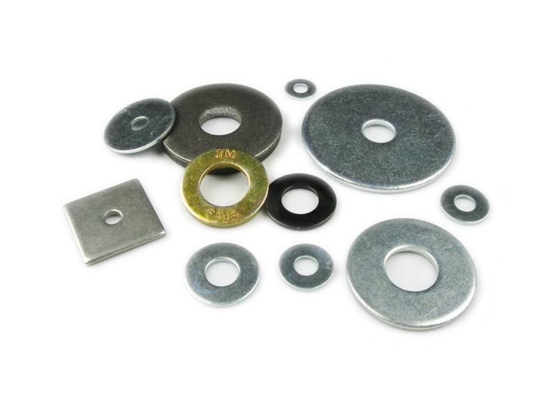 "Steel Flat Washer Black Oxide Finish 9//32/""... ASME B18.22.1 1//4/"" Screw Size"