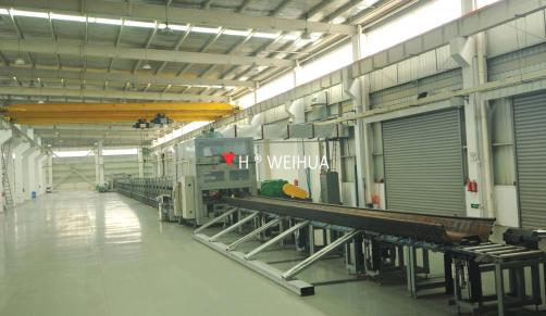 Steel Sheet Pile Roll Forming Machine