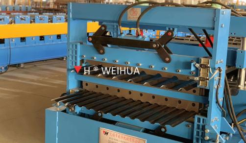 Double Sheets Roll Forming Machine