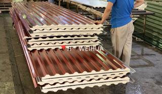 Simple Continuous PU Sandwich Panel Production Line