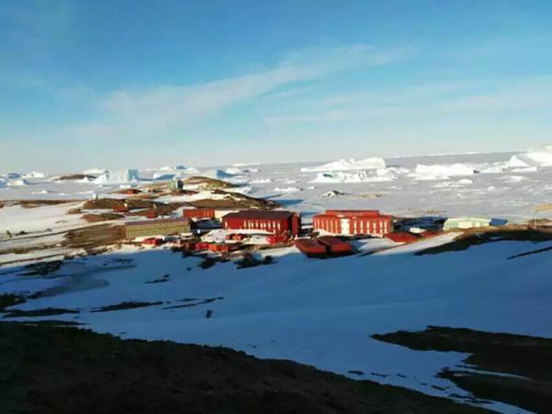 Superwatt generators for the Antarctic Zhongshan Station's research work continued escort