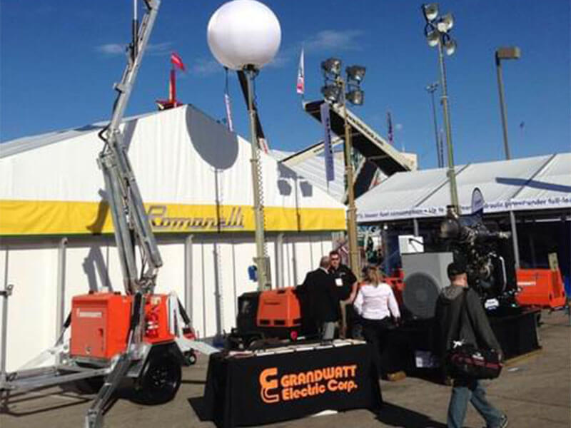 Grandwatt debut Conexpo International Construction Machinery Exhibition