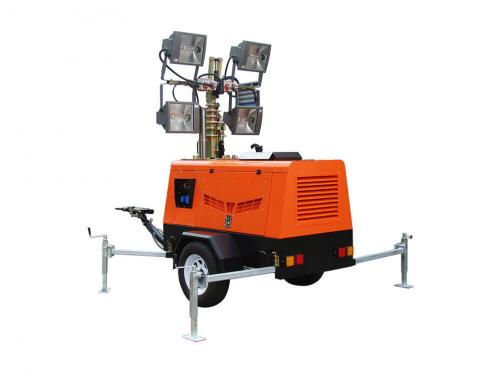 Metal Halid Hydraulic light tower for mining sites (VL Series)