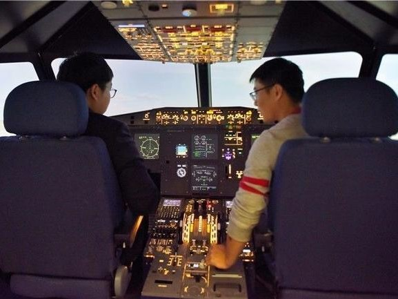 New iFSim.A320 simulator entered into Xianyang City Public Cultural Center
