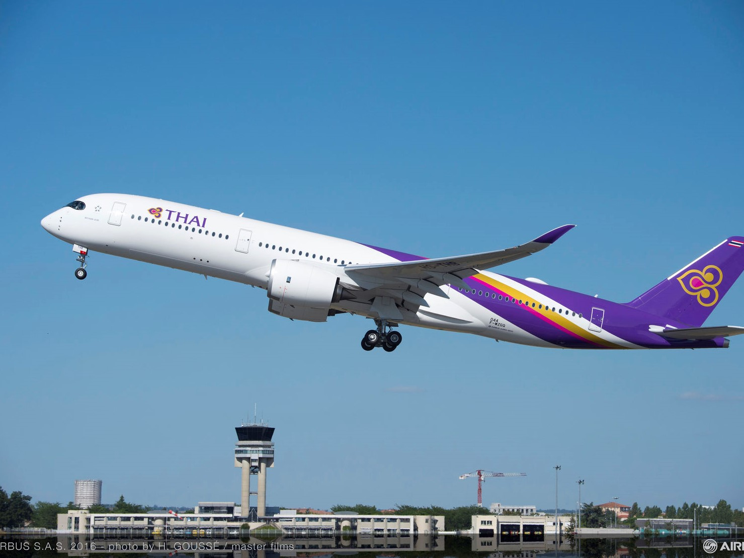 Airbus and Thai Airways discuss MRO joint venture