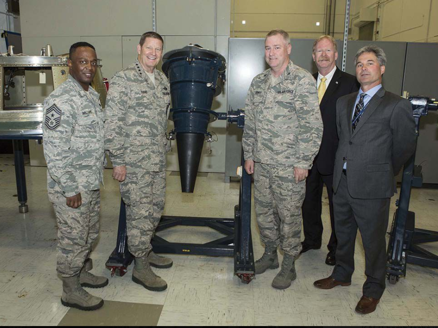 NWC upgrades re-entry vehicle simulators
