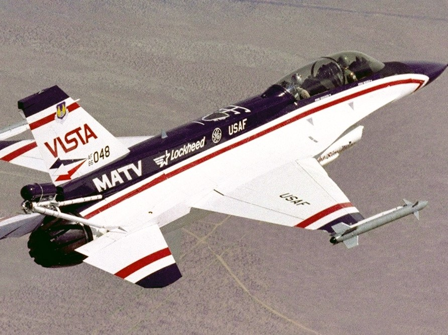 Calspan Awarded $20 Million VISTA/F-16 In-Flight Simulator Contract