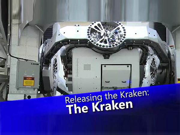 """Kraken"" Aircraft Motion Simulator"