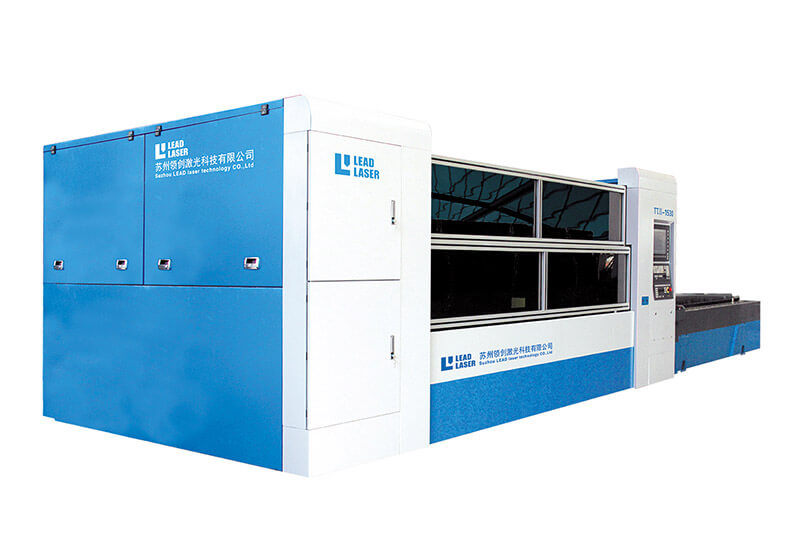 Fast speed CNC laser cutting machine LEAD πII F-1530 for aluminum