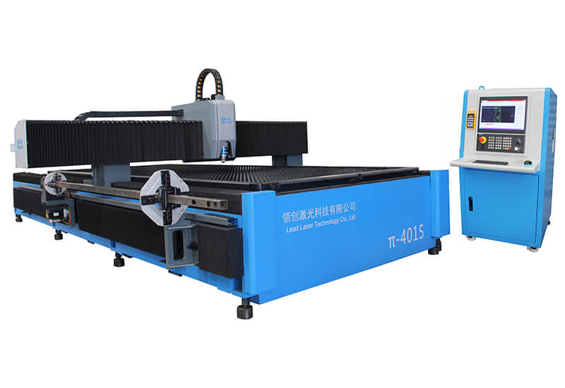 Automatic tube and sheet metal Laser Cutting Machine LEAD πtvF 6015