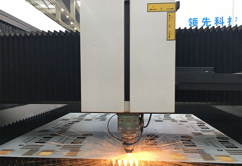 High power CNC CO2  laser cutter LEAD-πIIF 4020/6022/8025 for thick metal