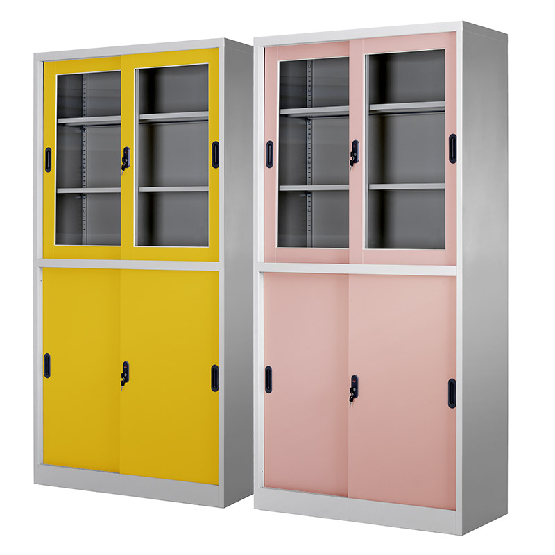 Double-tier sliding door cupboard 900*1850mm