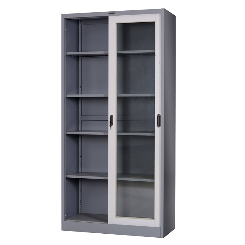 Glass sliding door cabinet 900*1850mm