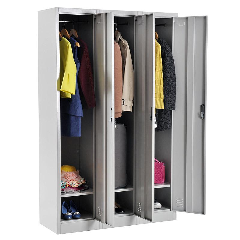 Triple door locker 900*1850mm