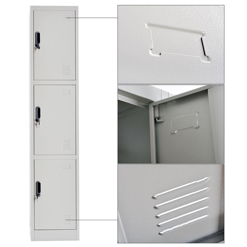 Triple door locker 380*1850mm