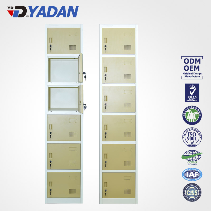 6 doors locker 380*1850mm