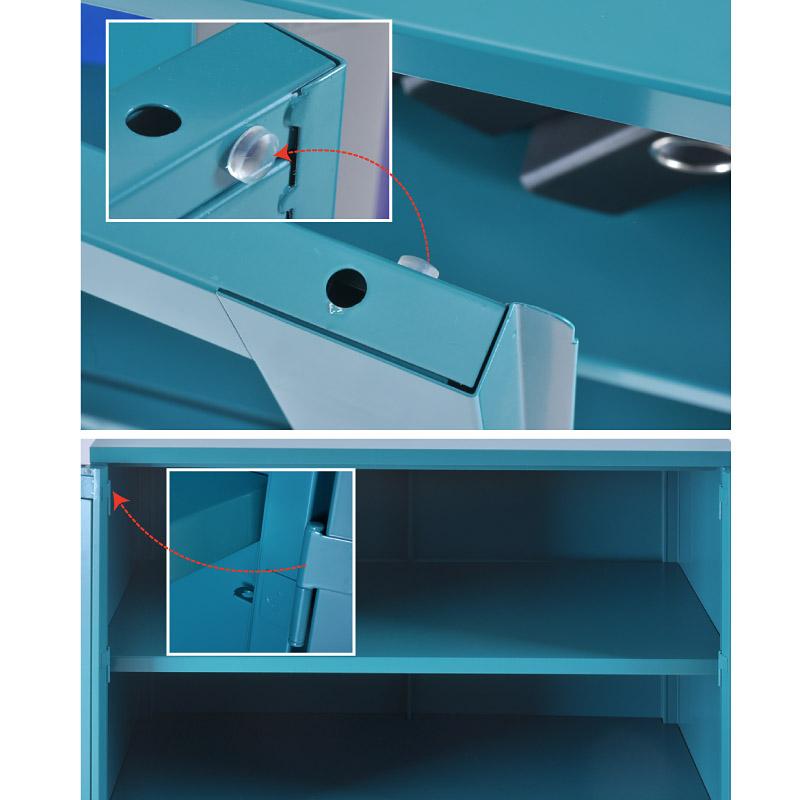 PC swing doors cupboard 900*700mm