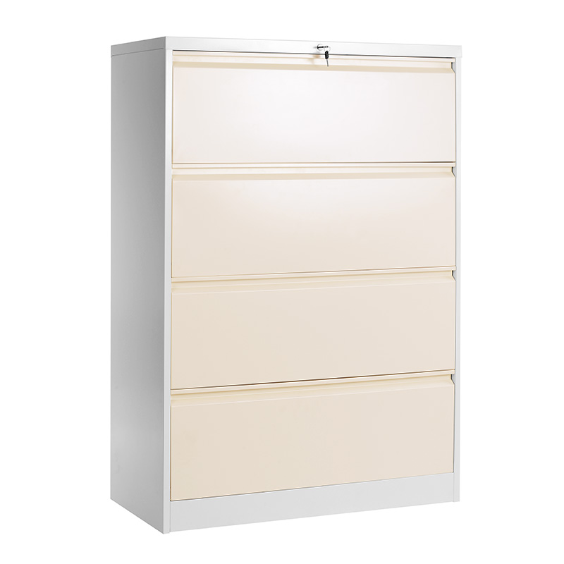 4 drawers lateral filing cabinet