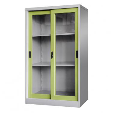 Glass sliding door cabinet 900*1400mm