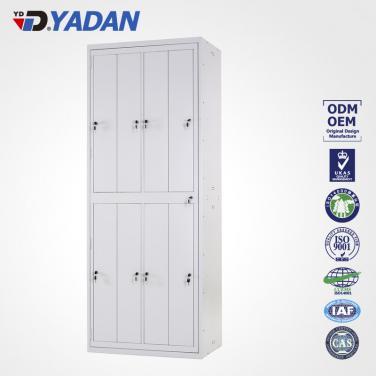 8 doors locker - bank of 4 wide 827*2134mm