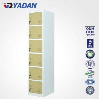 6 doors locker 300*1850mm