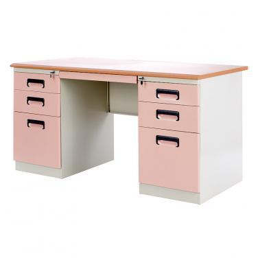 双柜办公桌YD-2C