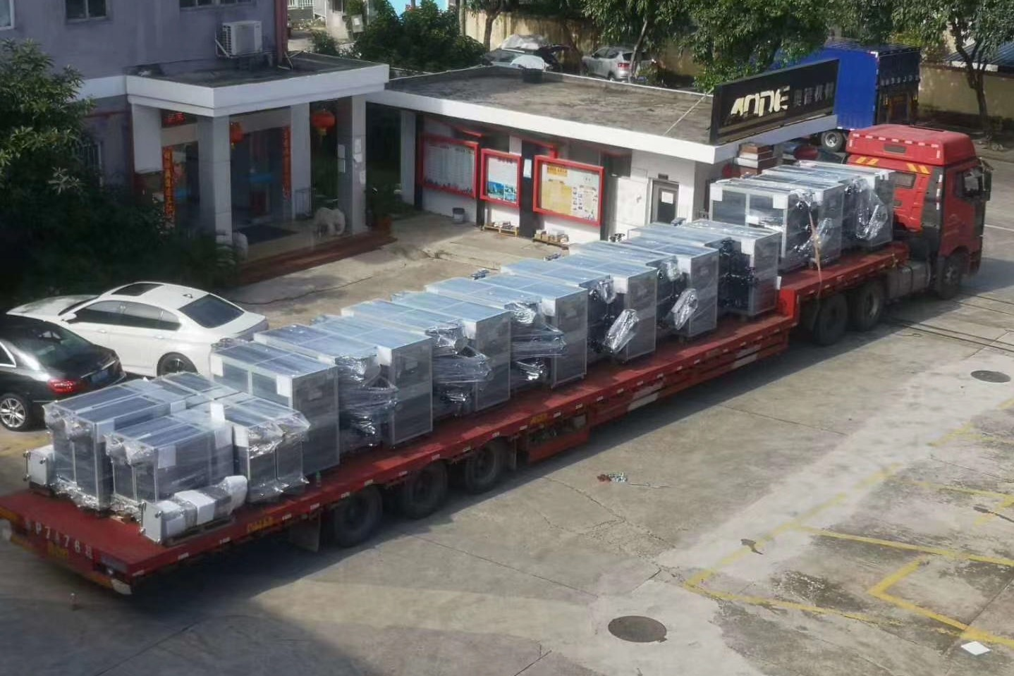 AODE TCU and Chillers produce in Shenzhen Factory