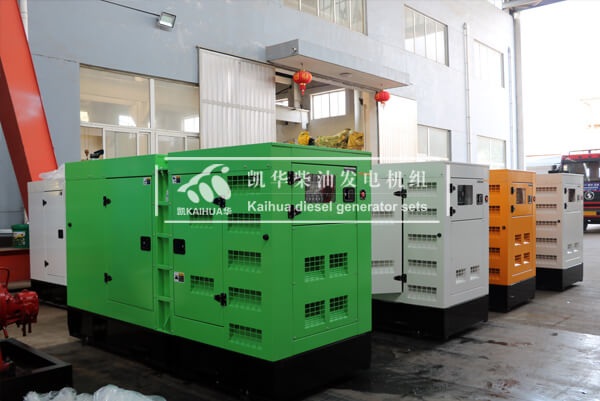 6 sets Silent Type Diesel Generator Shipped to Thailand