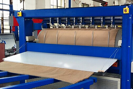 蜂窝纸芯生产线性能特点 上海绿顺